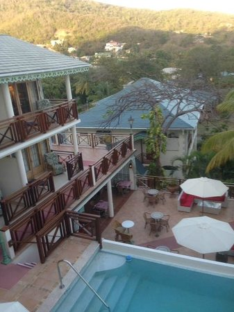 Bequia Beach Hotel: The view from our room
