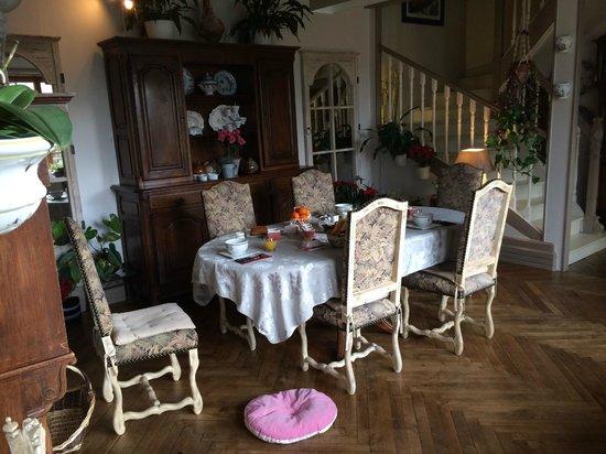 Cap Ouest : Sala colazione