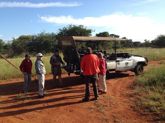 Madikwe River Lodge: Break