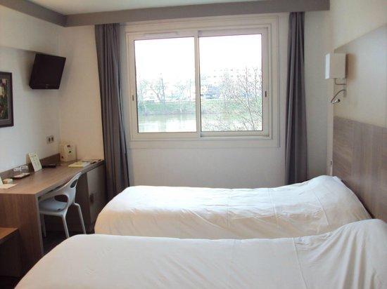 Hotel La Chartreuse : Habitación doble estándar.