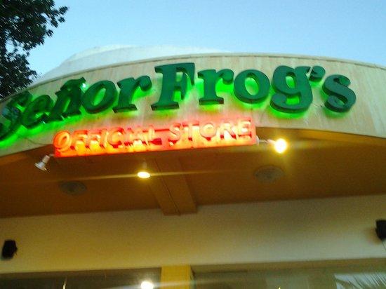Señor Frog's Playa del Carmen: insegna esterna