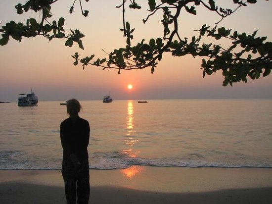 Vongdeuan Resort: sunrise