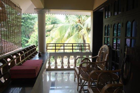 Mango Villa: our nice balcony