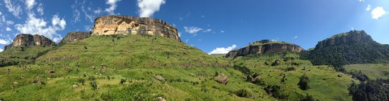Thendele Hutted camp: Weg zu Tigerfalls
