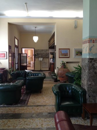 Hotel Moderno: La hall dell'Hotel