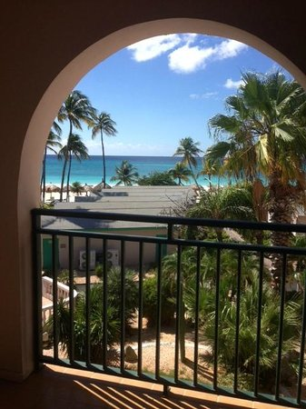 Divi Aruba All Inclusive: View from our balcony—ocean view