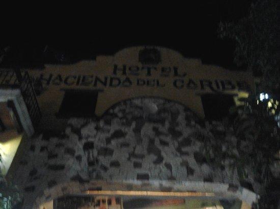 Hotel Hacienda del Caribe: ingresso