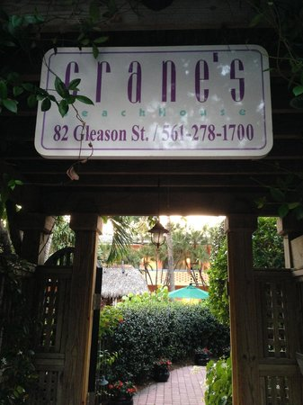 Crane's Beach House Boutique Hotel & Luxury Villas: Entrance to the Oasis
