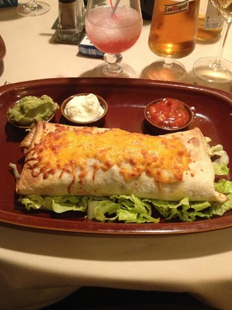 Tex Mex Gringo's : Burrito
