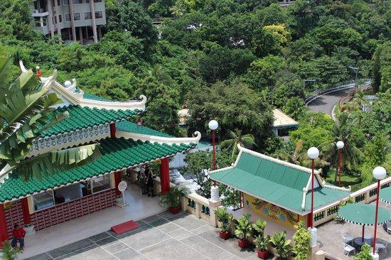 Taoist Temple: view