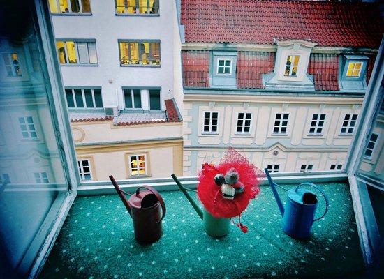 Hotel Salvator : вид из окошка