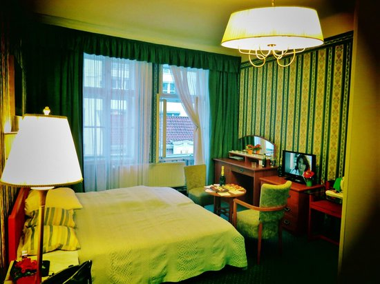 Hotel Salvator: просторный номер