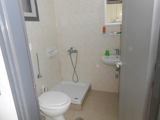Athena Apartments: The Bathroom
