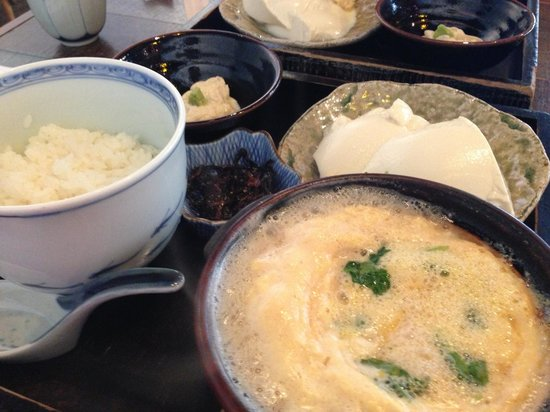 Yubadonnaokichi: ヘルシーで美味しい湯葉丼