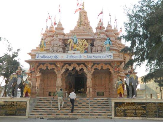 Hotel Nand Nandan: temple