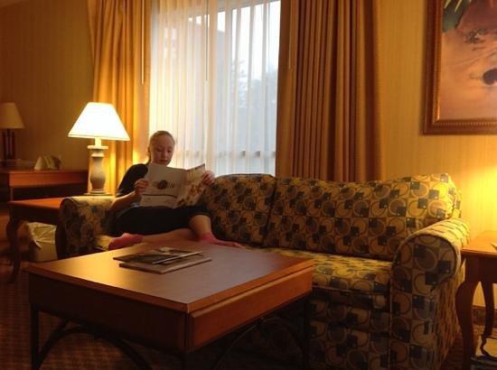 Hawthorn Suites by Wyndham Dallas Park Central : номер