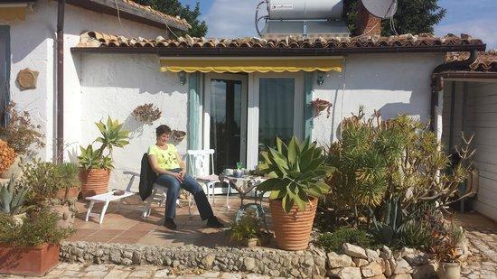 Poggio Bellavista: schöne Terrasse