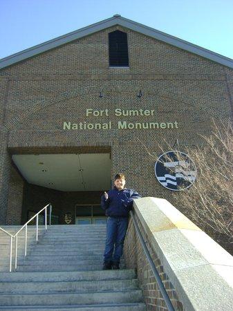 Fort Sumter National Monument : Antes da Bilheteria
