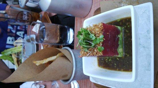 The Betsy - South Beach: Carpaccio de thon
