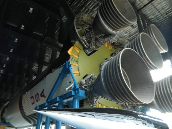 U.S. Space and Rocket Center : The rockets inside the museum were impressive to look at.