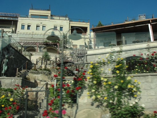 Cappadocia Cave Resort & Spa : Parcial do Hotel