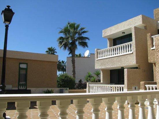 Parque de las Americas: view from our balcony (room 4)