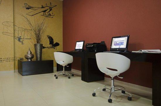 Wyndham Garden Silao Bajio Airport : Centro de negocios