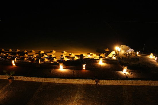 Jaz Fanara Resort & Residence : Пляж вечером