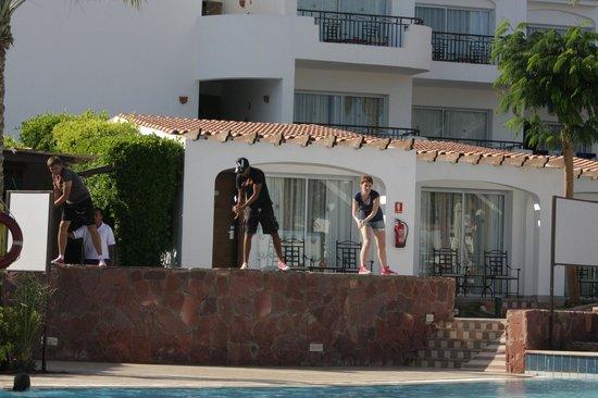 Jaz Fanara Resort & Residence : Вова, Мидо и Юля весь день с Вами