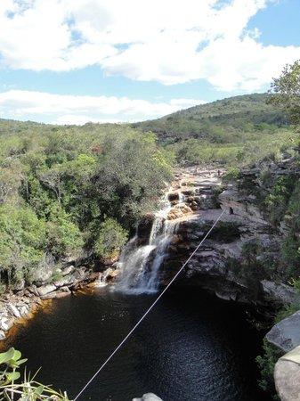 Poco do Diabo Waterfall: Segunda cachoeira no Mucugezinho