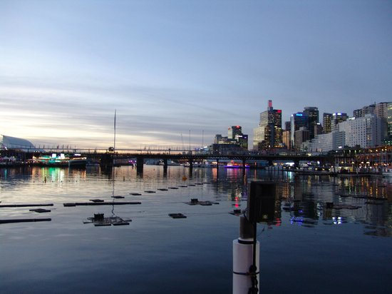 tramonto in Darling Harbour