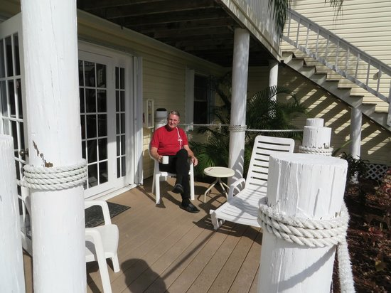 Oyster Pointe & Oyster Bay Resort: 21A Large deck