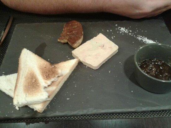 Novotel Mulhouse Sausheim : duo de foie gras 12€
