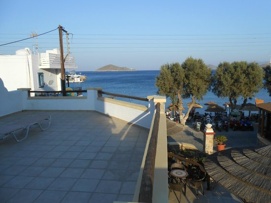 Panteli Beach Studios Apartments : terrasse