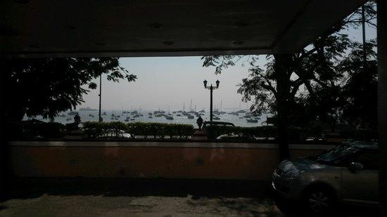 Strand Hotel: Utsikt från matsalen