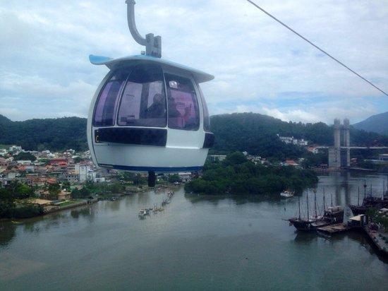 Parque Unipraias Camboriu : Vista do teleférico