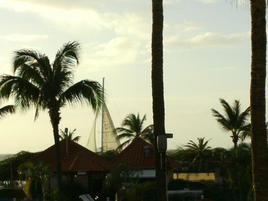 La Cabana Beach Resort & Casino : taken from balconey