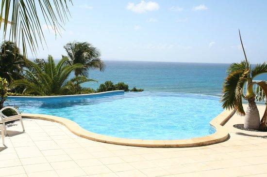 Hotel Amaudo : La piscine