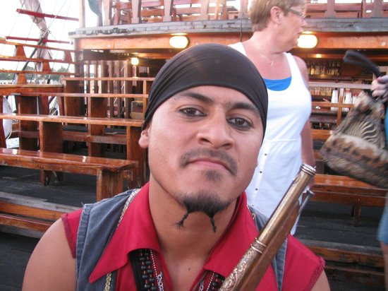 Pirate Shows & Tours: one of the many pirates