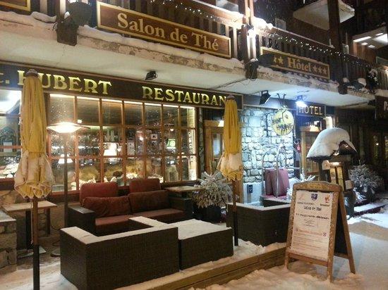 Auberge Saint-Hubert : Hotel Frontage