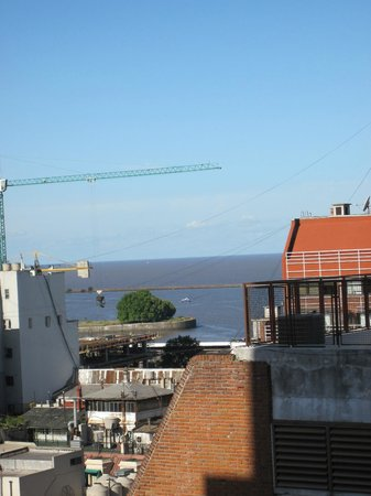 Amerian Buenos Aires Park Hotel : View from our room - looking east toward Rio de la Plata