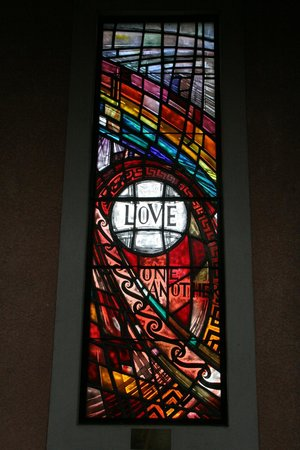 Waiapu Anglican Cathedral, Napier, New Zealand: One of the smaller windows