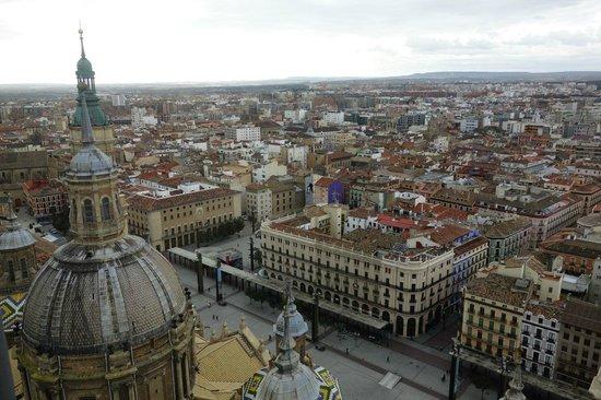Ascensor del Pilar : Old town view