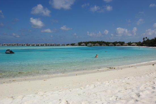 Cinnamon Dhonveli Maldives: Lagoon beach