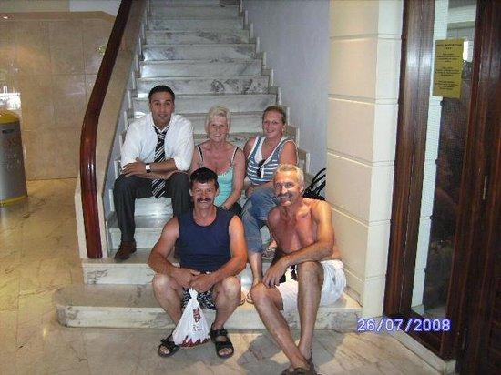Mundial Club Hotel : aan de receptie