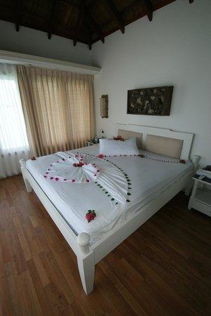 Cinnamon Dhonveli Maldives: Mo's Bed Art