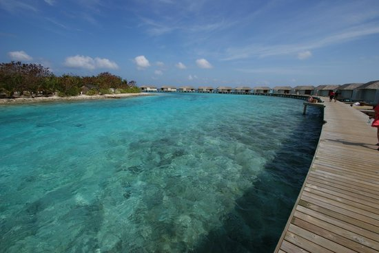 Cinnamon Dhonveli Maldives: Water Suites Lagoon