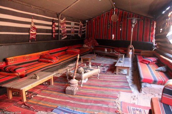 Rahayeb Desert Camp: Common areas at the camp