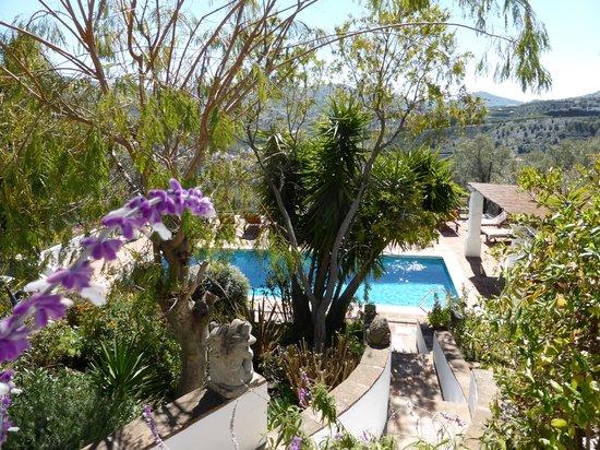 Hotel Finca el Cerrillo: The colourful gardens