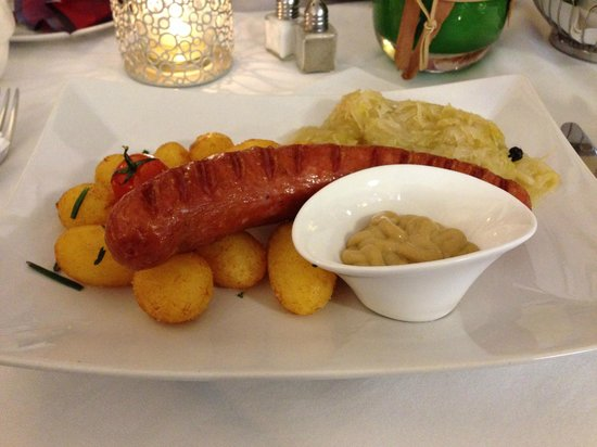 Restaurant Fuehrich: Большой выбор блюд под пиво.